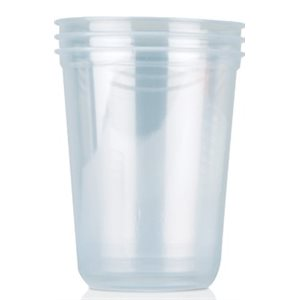 Deli Container 16 OZ Hoffman Clear Round (500 / cs)