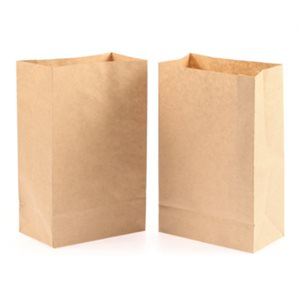 Paper Grocery Bags Brown 12x7x20 (250 / cs)