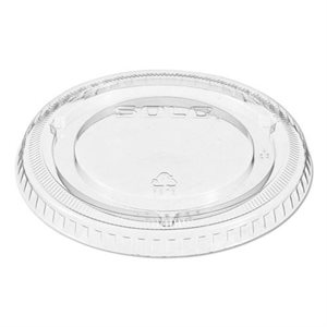 Portion Cup Lid Clear 1 Oz (2500 / cs)