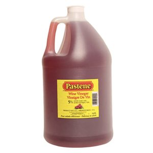 Vinegar Wine Pastene (4x3.65 L / cs)